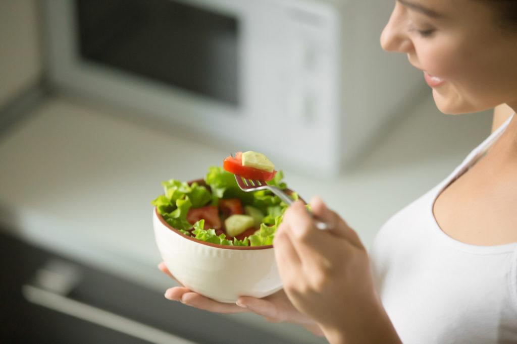 Fasten - gesunde Mahlzeit