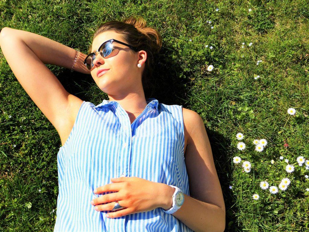 Vitamin D Synthese beim Sonnenbaden