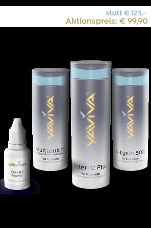 Immunsystem stärken mit dem Yaviva Immunpaket